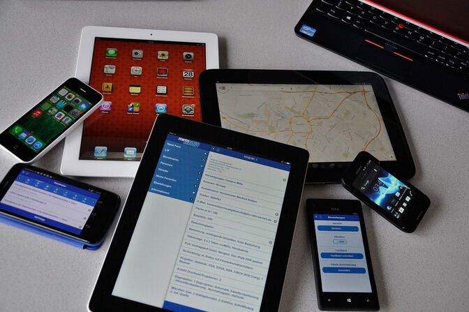 Photo of mobil devices
