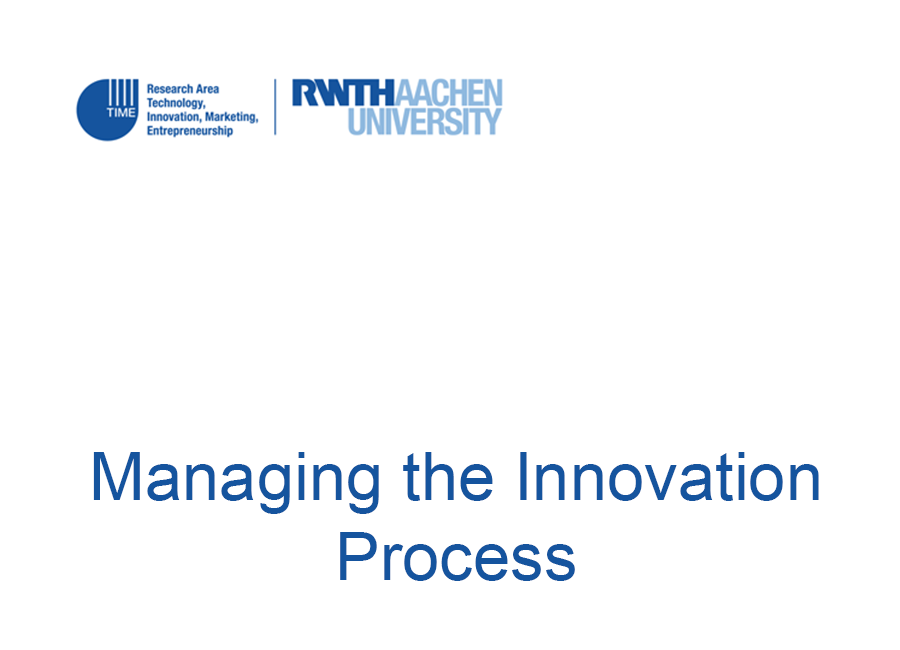 thesis innovation process Mapping the process of innovation 1 explain the innovative process that must take place in the industry (eg groceries, airlines, publishing, etc) for successful.