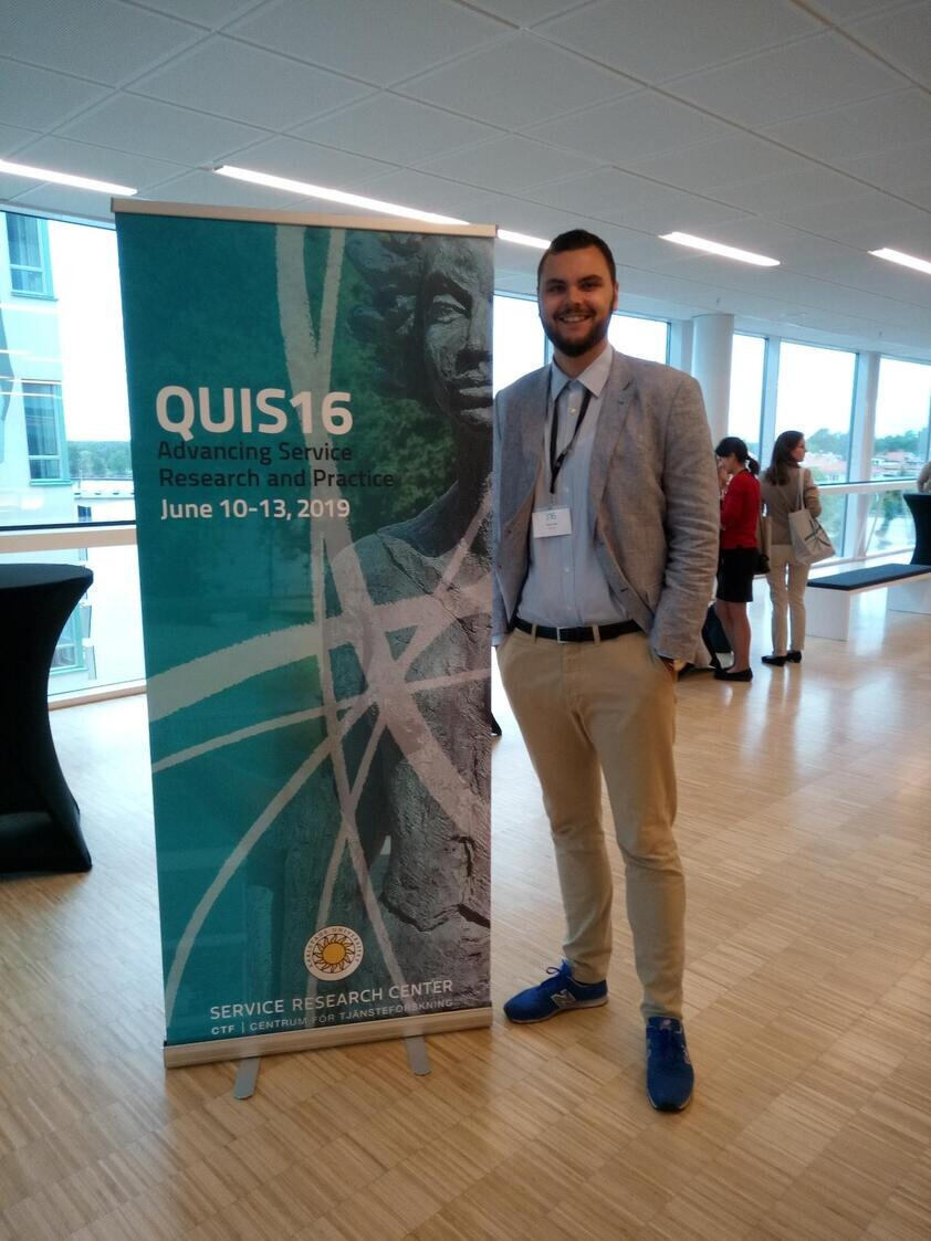 Heiko Holz at QUIS16